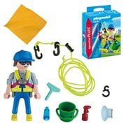 Playmobil 5379 Special Plus Window Cleaner Action Figure