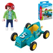 Playmobil 5382 Special Plus Boy with Go-Kart Action Figure