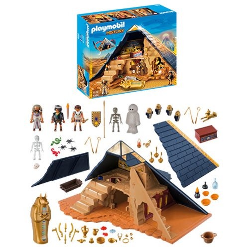 Playmobil 5386 Pharaoh's Pyramid Playset