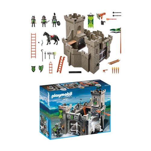 Playmobil 6002 Knights Wolf Knights' Castle Playset