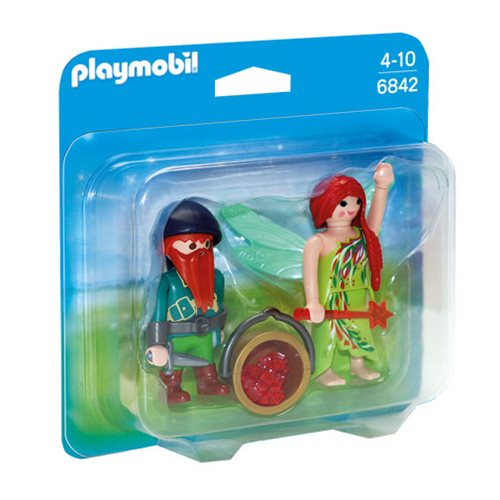 Playmobil 6842 Elf and Dwarf Duo Pack Action Figures