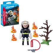Playmobil 9093 Special Plus Firefighter with Tree