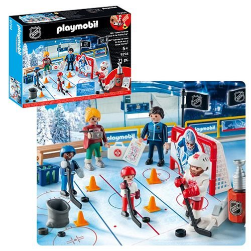 Playmobil 9294 NHL Road to the Cup Advent Calendar
