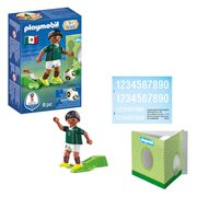 Playmobil 9515 Soccer National Team Player Mexico Figure