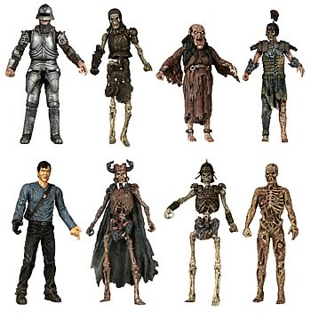 Army of Darkness 4-inch Series 1 Set