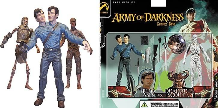 Army of Darkness Hero Ash vs. Deadite Scout