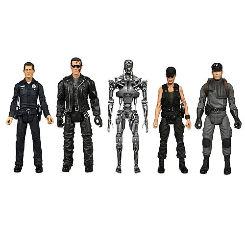 Terminator Series 1 Action Figure 2-Packs Set