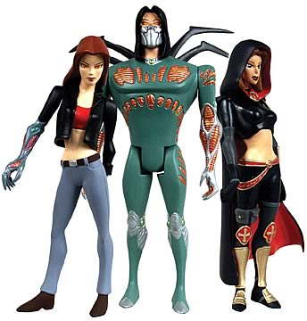 Witchblade Animated Series 1 Action Figure Set