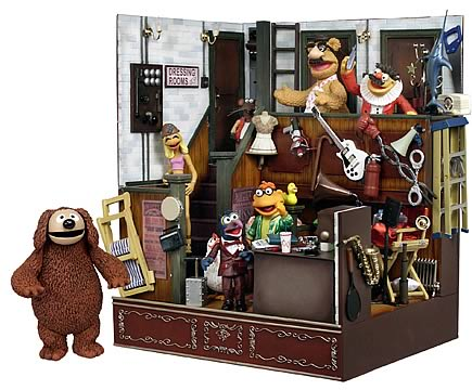 Muppets Backstage Super Deluxe Playset