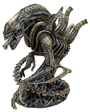 Alien Warrior Mini Bust