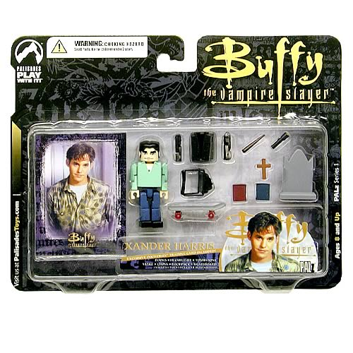 Buffy PALz Series 1 Mini Xander Figure