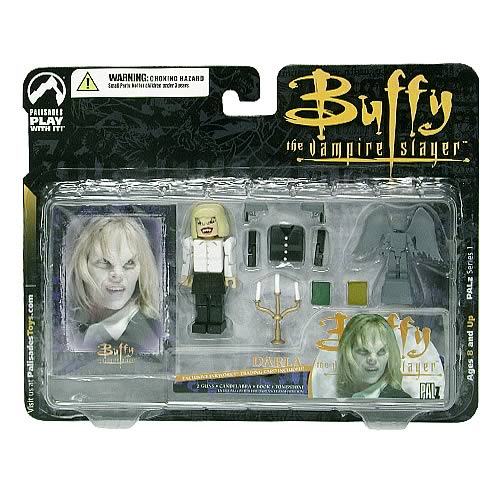 Buffy PALz Series 1 Mini Darla Repaint Figure