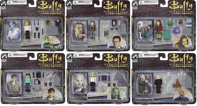 Buffy PALz Series 1 Mini Figure Set