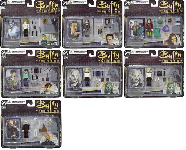 Buffy PALz Series 1 Mini Figure Case