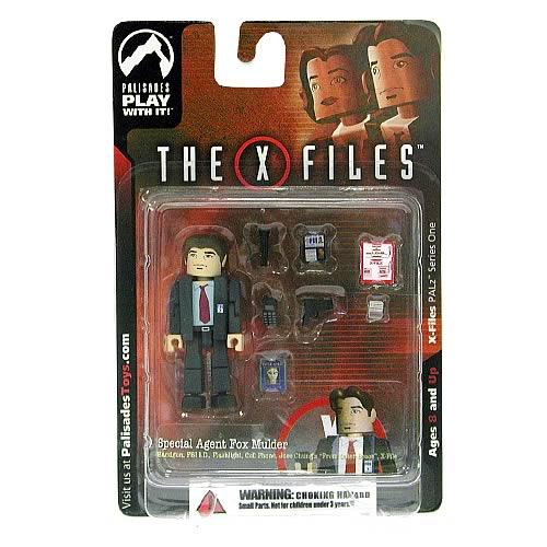 X-Files PALz Series 1 Special Agent Fox Mulder Mini Figure