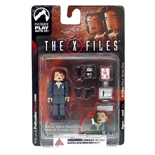 X-Files PALz Series 1 Special Agent Dana Scully Mini Figure