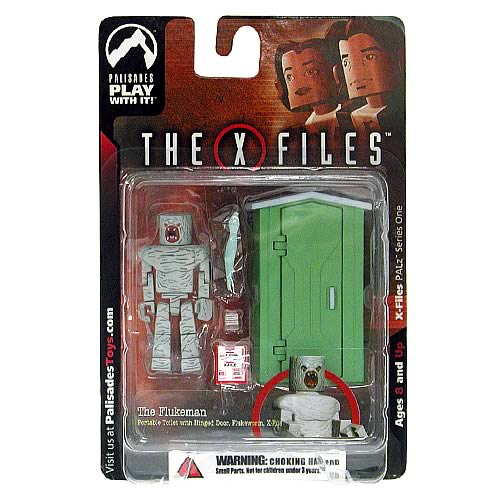 X-Files PALz Series 1 Flukeman Mini Figure