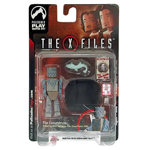 X-Files PALz Series 1 Conundrum Mini Figure