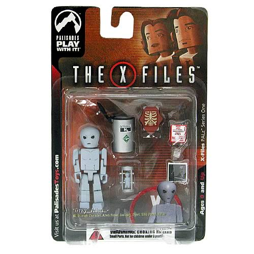 X-Files PALz Series 1 Gray Alien Mini Figure