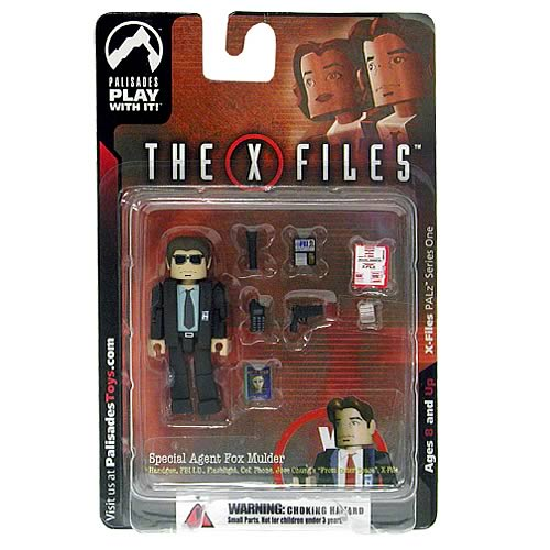 X-Files PALz Series 1 Agent Mulder Repaint Mini Figure