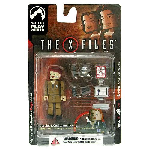 X-Files PALz Series 1 Agent Scully Repaint Mini Figure