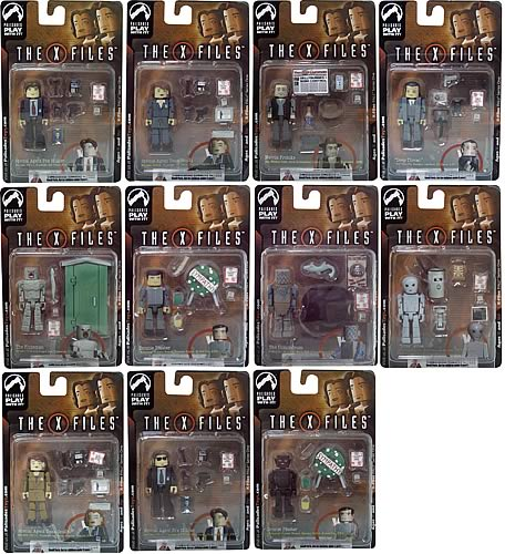 X-Files PALz Series 1 Mini Figure Case