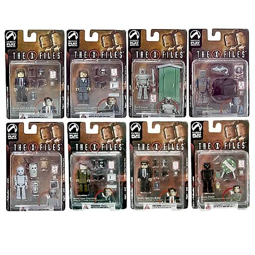 X-Files PALz Series 1 Mini Figure Set 2