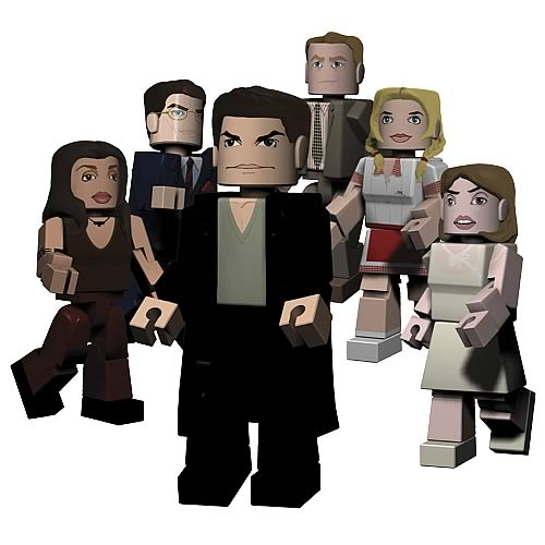 Buffy PALz Series 3 Mini Figures Set