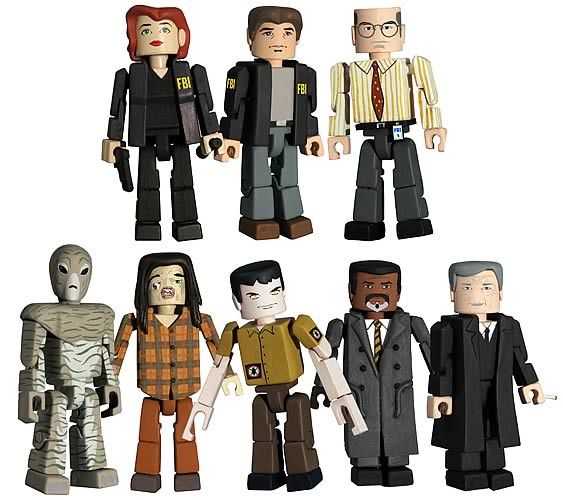 X-Files PALz Series 2 Mini Figure Half Case
