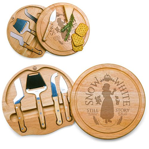 Snow White Circo Cheese Board and Tools Set