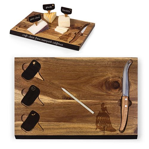 Cinderella Delio Acacia Cheese Board and Tools Set