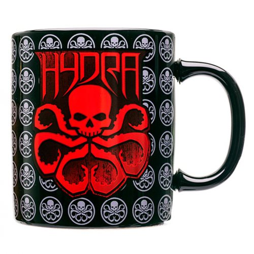 Agents of SHIELD Hydra Red Logo Mug