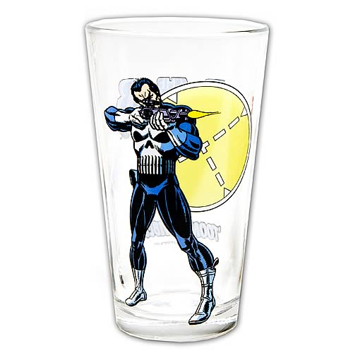 Punisher Glass Toon Tumbler