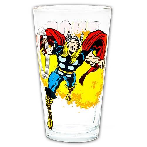 Thor Toon Tumbler Pint Glass