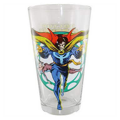 Doctor Strange Glass Toon Tumbler