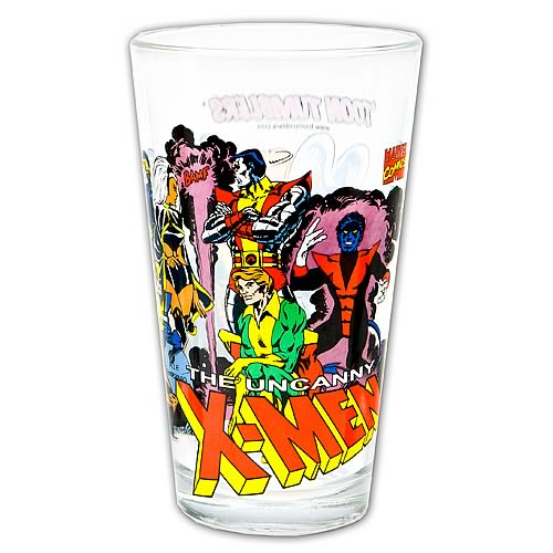 X-Men Glass Toon Tumbler