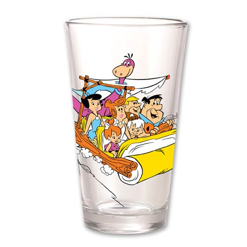 Flintstones Hanna-Barbera Pint Glass