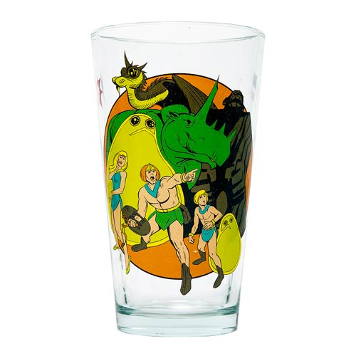 Herculoids Hanna-Barbera Pint Glass