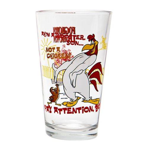 Looney Tunes Foghorn Leghorn Toon Tumbler Pint Glass