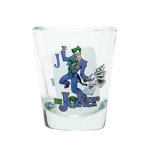 Batman The Joker DC Comics Mini Glass