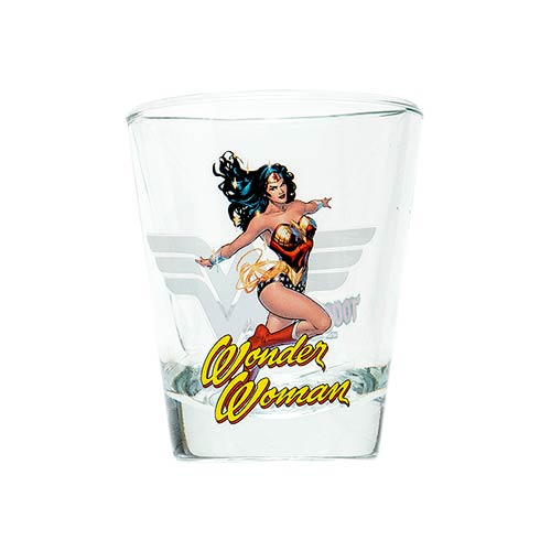 Wonder Woman DC Comics Mini Glass