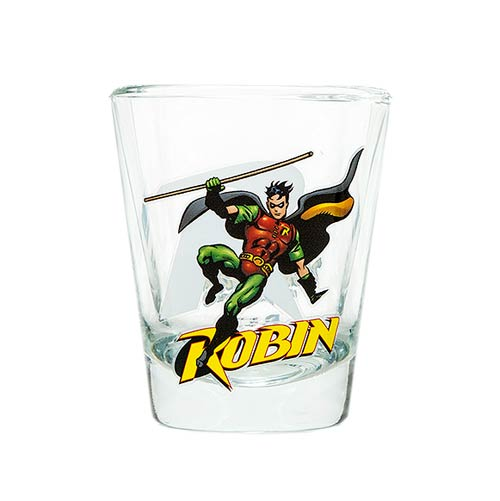 Batman Robin DC Comics Shot Glass