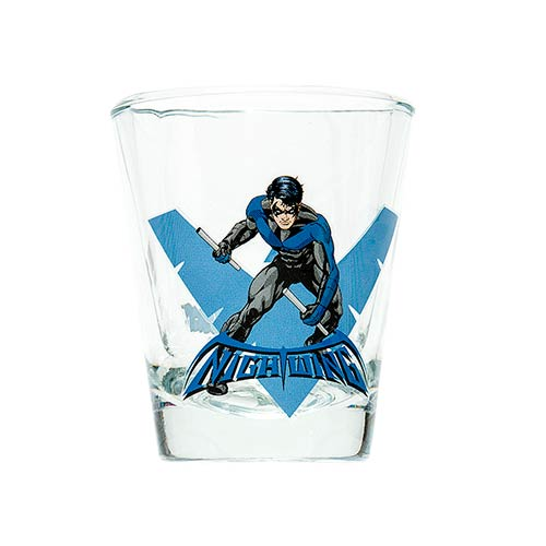 Batman Nightwing DC Comics Mini Glass