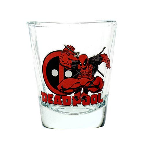 Deadpool Toon Tumbler Collectible Mini-Glass