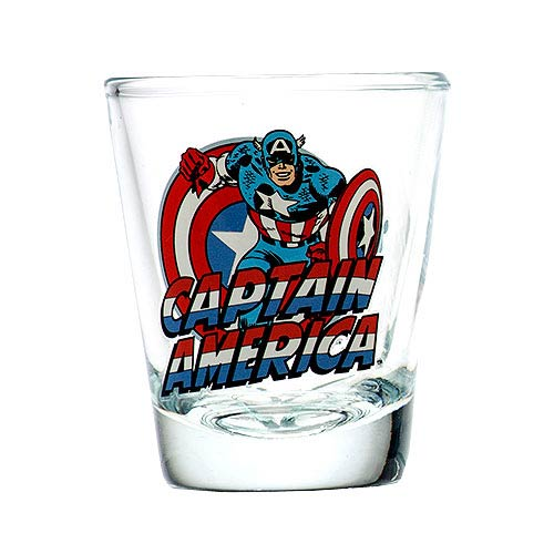 Captain America Toon Tumbler Collectible Mini-Glass