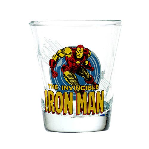 Iron Man Toon Tumbler Collectible Mini-Glass