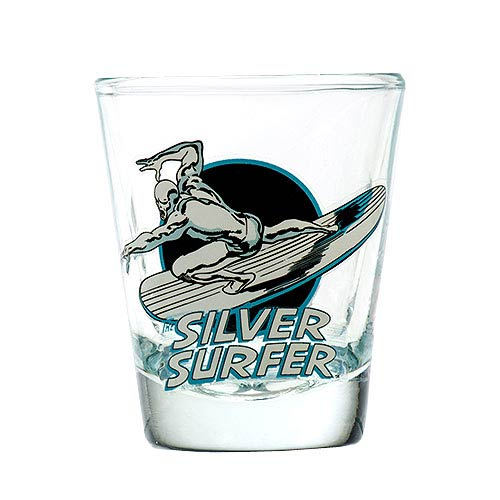 Silver Surfer Toon Tumbler Collectible Mini-Glass