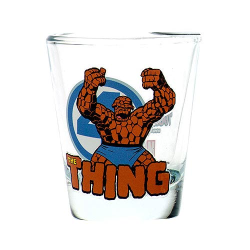 Fantastic Four Thing Toon Tumbler Collectible Mini-Glass