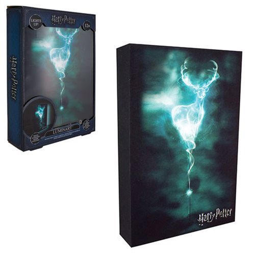 Harry Potter Patronus Luminart Light-Up Artwork