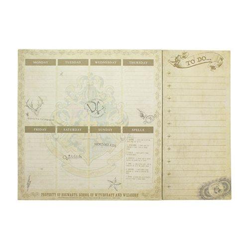 Harry Potter Hogwarts Desk Planner